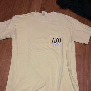 Alpha Chi Omega family weekend T-shirt